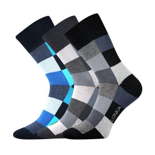Ponožky decube mix B velikost 29-31 (43-46), 3páry