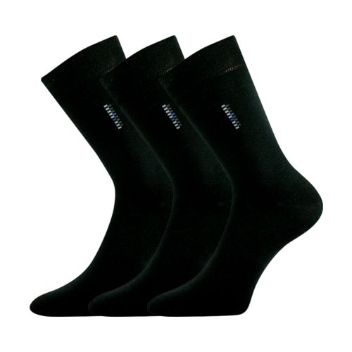 Ponožky delavar černá velikost 32-34 (48-51), 3páry