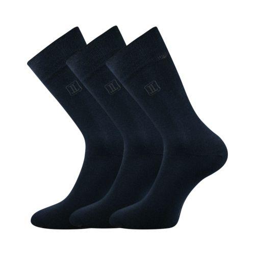 Ponožky delongr tmavě modrá velikost 32-34 (48-51), 3páry