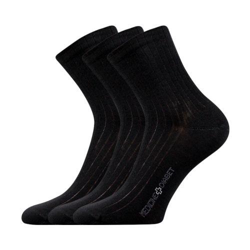 Ponožky demedik černá velikost 29-31 (43-46), 3páry