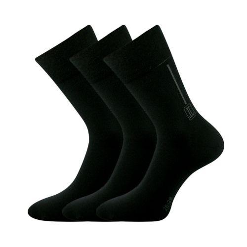 Ponožky desan černá velikost 23-25 (35-38), 3páry