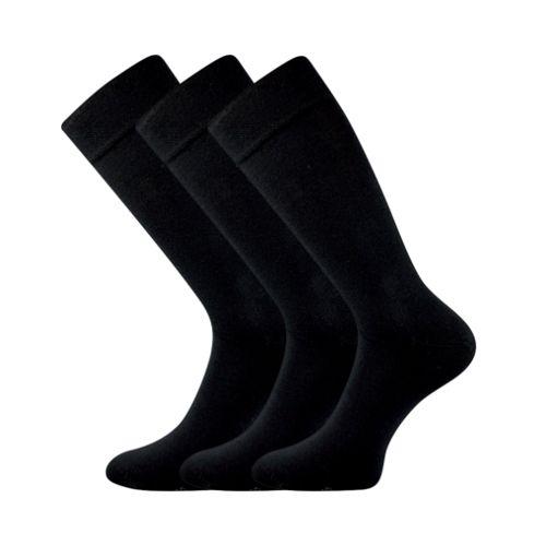 Ponožky diplomat černá velikost 29-31 (43-46), 3páry