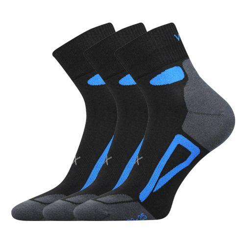 Ponožky disc černá velikost 29-31 (43-46), 3páry