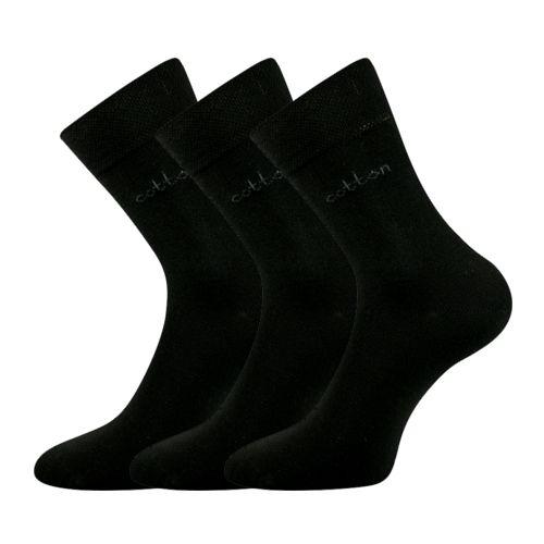 Ponožky doban černá velikost 32-34 (48-51), 3páry
