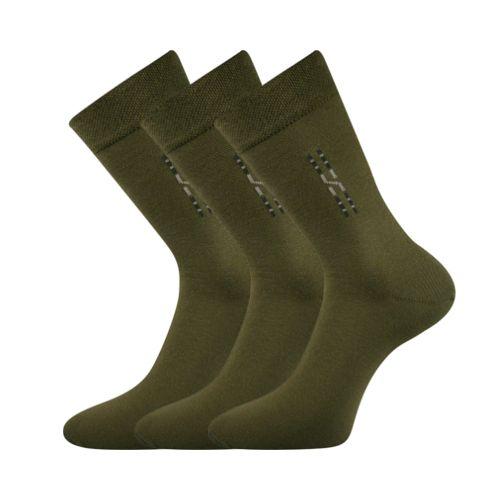 Ponožky dragon tmavě zelená velikost 31-32 (47-48), 3páry