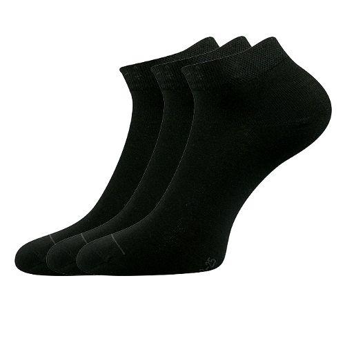 Ponožky dyp černá velikost 29-31 (43-46), 3páry