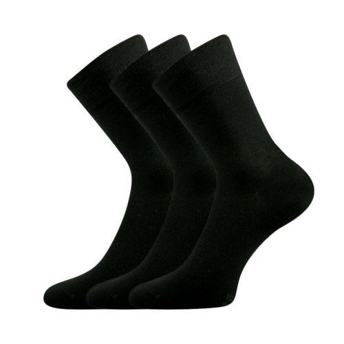 Ponožky dypak černá velikost 29-31 (43-46), 3páry