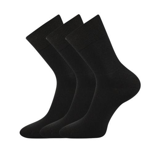 Ponožky eduard černá velikost 29-31 (43-46), 3páry