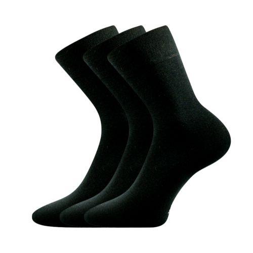 Ponožky efes-a černá velikost 32-34 (48-51), 3páry