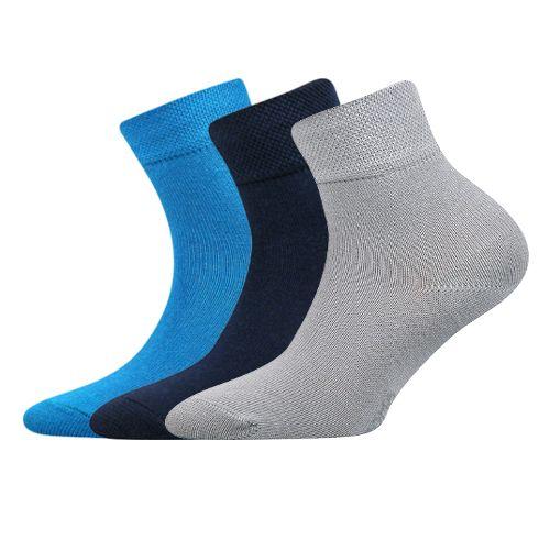Ponožky emko mix B velikost 23-25 (35-38), 3páry