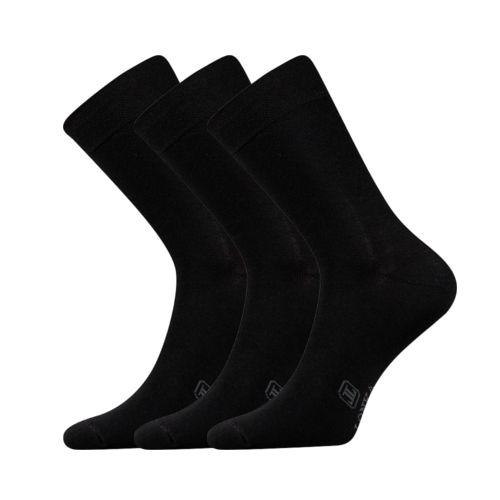 Ponožky fasilva černá velikost 26-28 (39-42), 3páry
