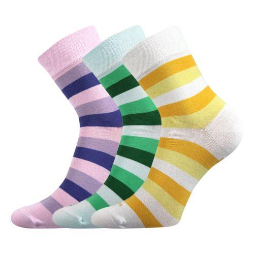 Ponožky folana mix B velikost 26-28 (39-42), 3páry