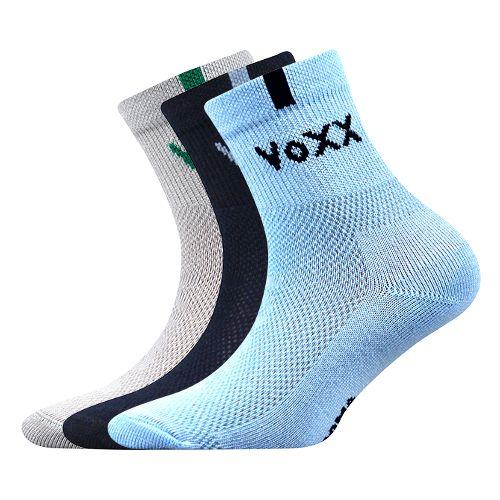 Ponožky fredík mix B velikost 23-25 (35-38), 3páry