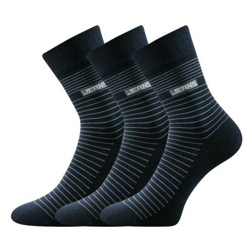 Ponožky frony tmavě modrá velikost 26-28 (39-42), 3páry