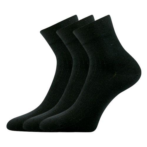 Ponožky gazdan-a černá velikost 29-31 (43-46), 3páry