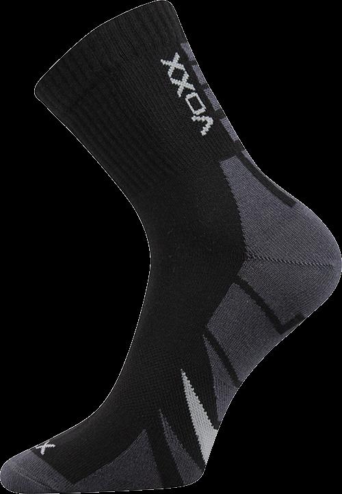 Ponožky hermes černá velikost 29-31 (43-46), 1pár