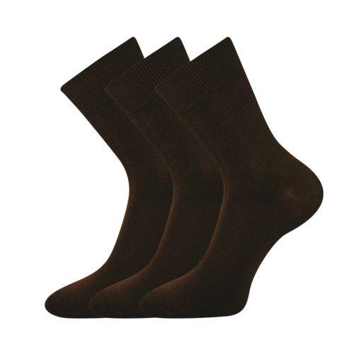 Ponožky hipokratos hnědá velikost 31-32 (47-48), 3páry