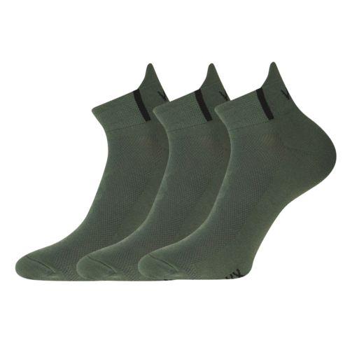 Ponožky iris tmavě zelená velikost 23-25 (35-38), 3páry
