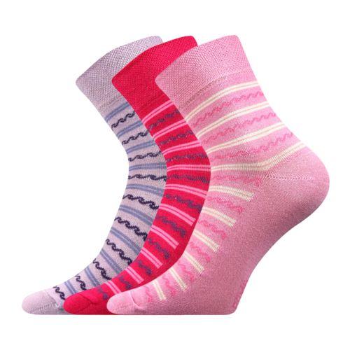 Ponožky ivana 32 mix 32 velikost 26-28 (39-42), 3páry