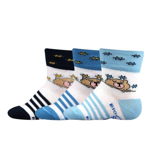 Ponožky jonáš bio mix B velikost 12-14 (18-20), 3páry