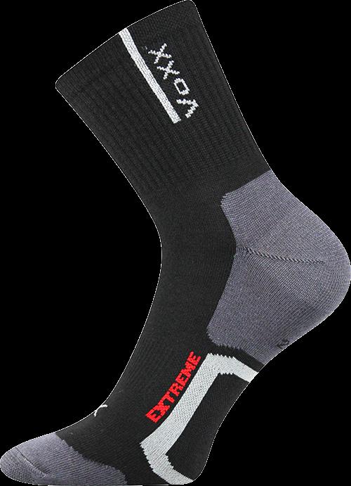 Ponožky josef černá velikost 32-34 (48-51), 1pár