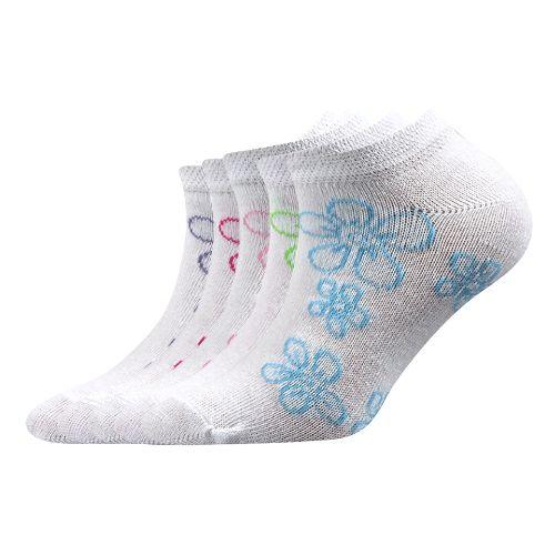 Ponožky kiki dětská mix 11 velikost 14-16 (20-24), 5párů