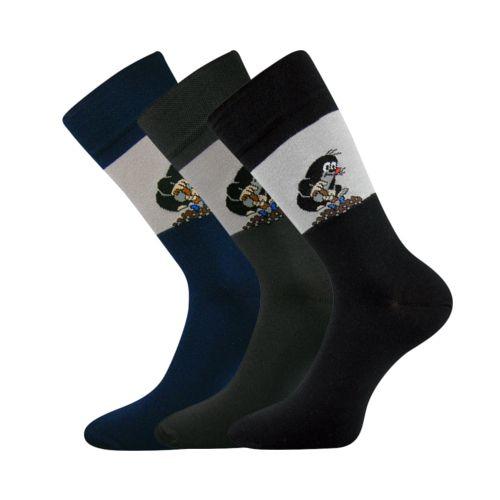Ponožky kr 111 mix B velikost 29-31 (43-46), 3páry