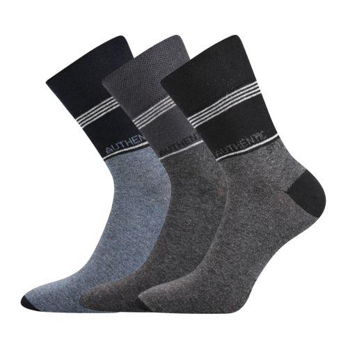 Ponožky kuba ii mix II velikost 29-31 (43-46), 3páry