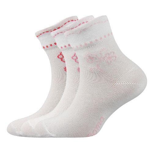 Ponožky květka mix C velikost 23-25 (35-38), 3páry