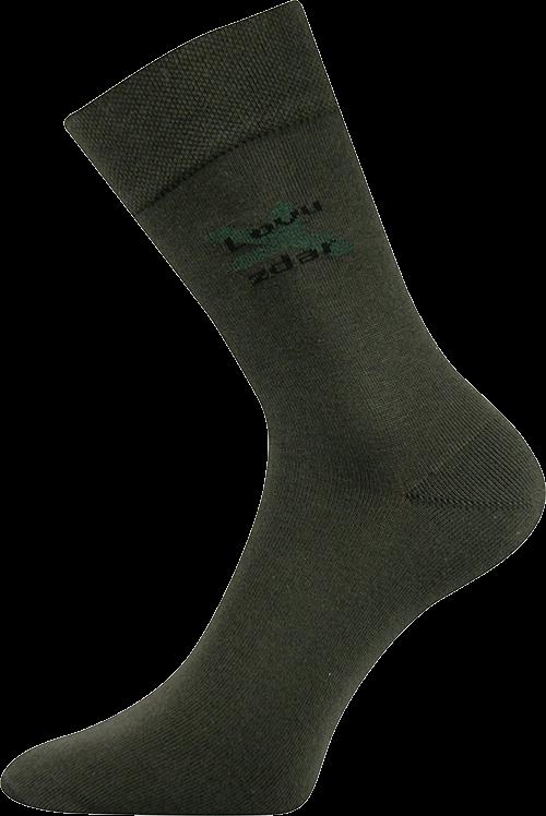 Ponožky lassy větvička velikost 29-31 (43-46), 1pár