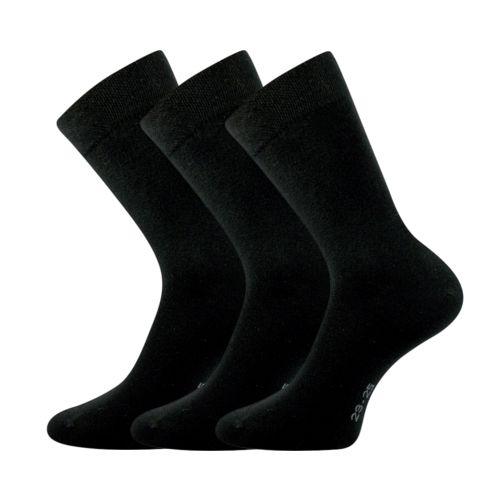 Ponožky marcel-a černá velikost 29-31 (43-46), 3páry