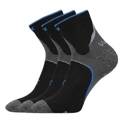 Ponožky maxter černá velikost 29-31 (43-46), 3páry