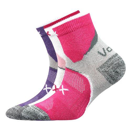 Ponožky maxterik mix B holka velikost 23-25 (35-38), 3páry