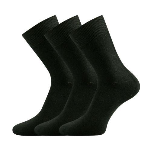Ponožky modan-a černá velikost 32-34 (48-51), 3páry