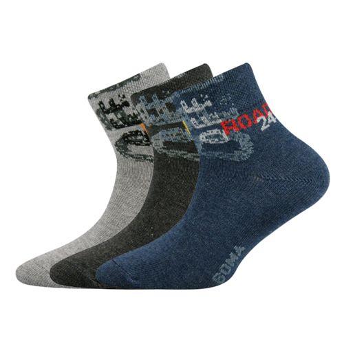 Ponožky offik mix B velikost 17-19 (25-29), 3páry