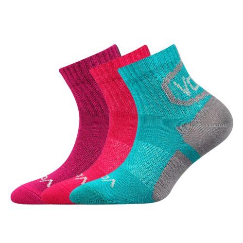 Ponožky oskárek mix B holka velikost 23-25 (35-38), 3páry