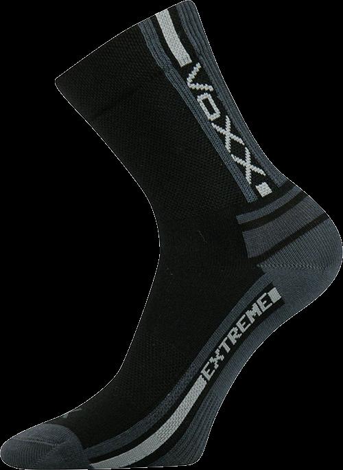 Ponožky panorama černá II velikost 32-34 (48-51), 1pár
