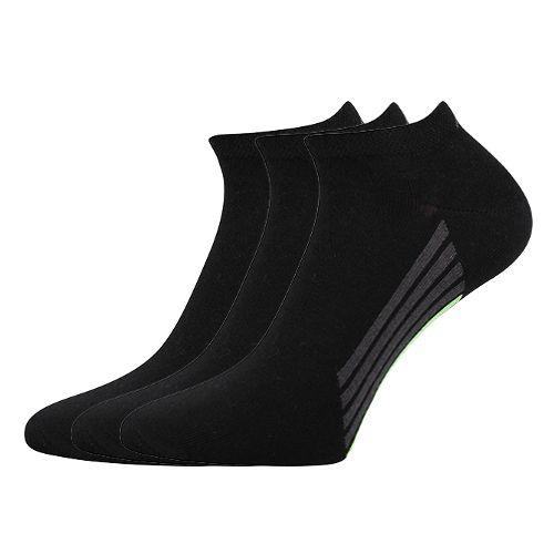 Ponožky piki 44 44 černá velikost 32-34 (48-51), 3páry