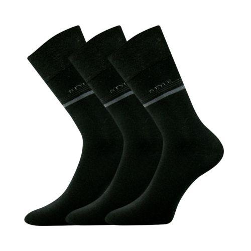 Ponožky rapid černá II velikost 26-28 (39-42), 3páry