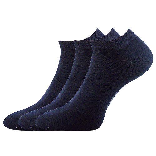 Ponožky ren tmavě modrá velikost 23-25 (35-38), 3páry