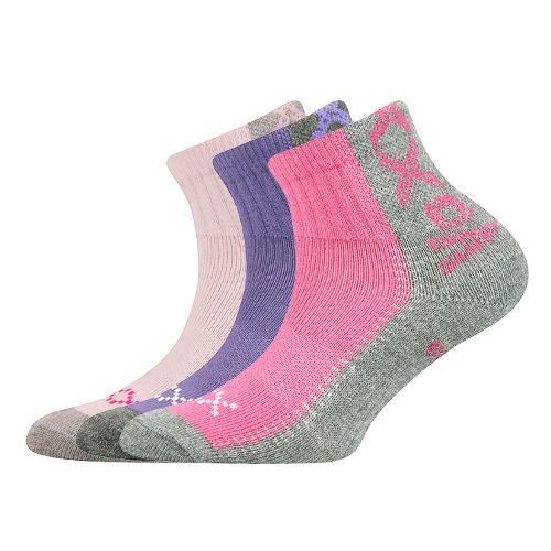 Ponožky revoltik mix B holka velikost 23-25 (35-38), 3páry