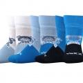 Ponožky sebík mix B kluk velikost 12-14 (18-20), 3páry