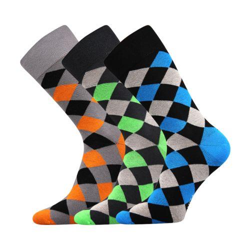 Ponožky wearel 004 kosočtverce velikost 29-31 (43-46), 3páry