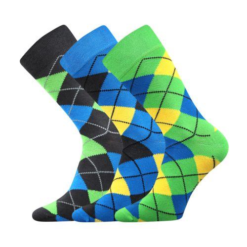Ponožky wearel 005 káro velikost 29-31 (43-46), 3páry