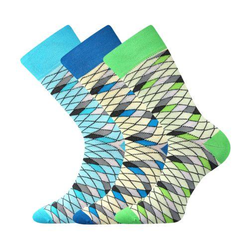 Ponožky wearel 008 síť velikost 29-31 (43-46), 3páry