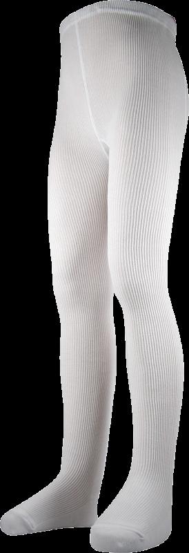 Punčocháče bavlnik bílá velikost 122-128, 1kus