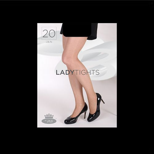 Punčochové kalhoty ladytights 20den nero velikost XXL - 170-176/124, 1kus