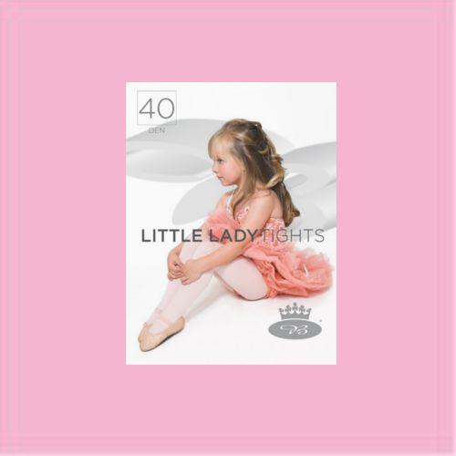 Punčochové kalhoty little ladytights rosa velikost 146-152, 1kus