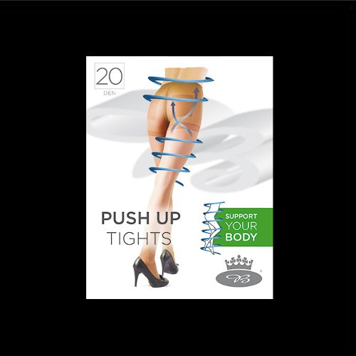 Punčochové kalhoty push uptights 20den nero velikost XXL - 170-176/124, 1kus