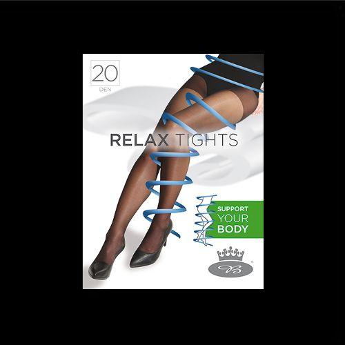 Punčochové kalhoty relaxtights 20den nero velikost XXL - 170-176/124, 1kus